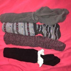 boot socks bundle- size large